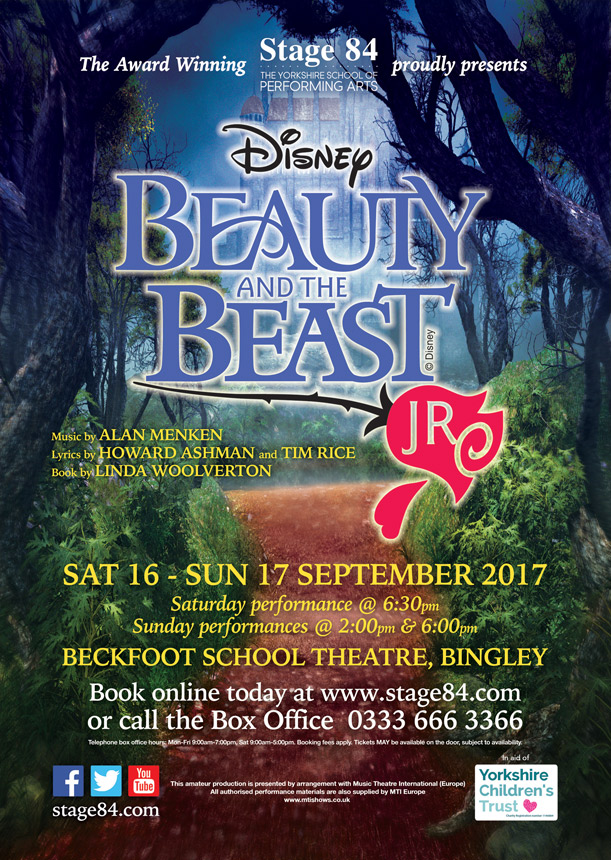 Stage 84 presents Disney's Beauty and the Beast Jr.
