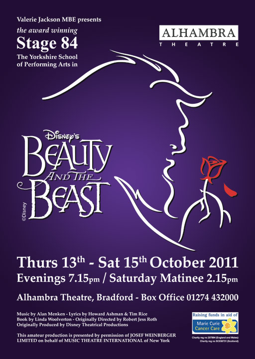 Stage 84 presents Beauty and the Beast, 2011