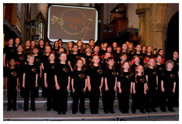 Stage 84 students perform at the Diamond Jubilee Concert