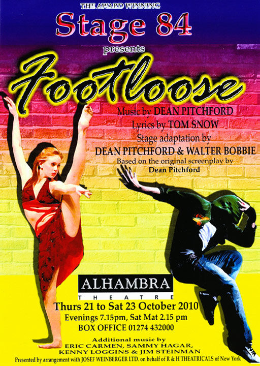 Stage 84 presents Footloose, 2010