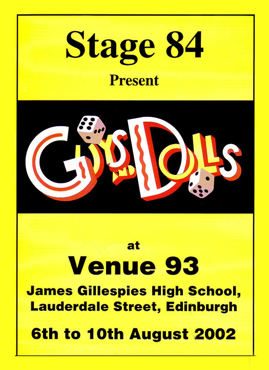 Guys and Dolls, 2002