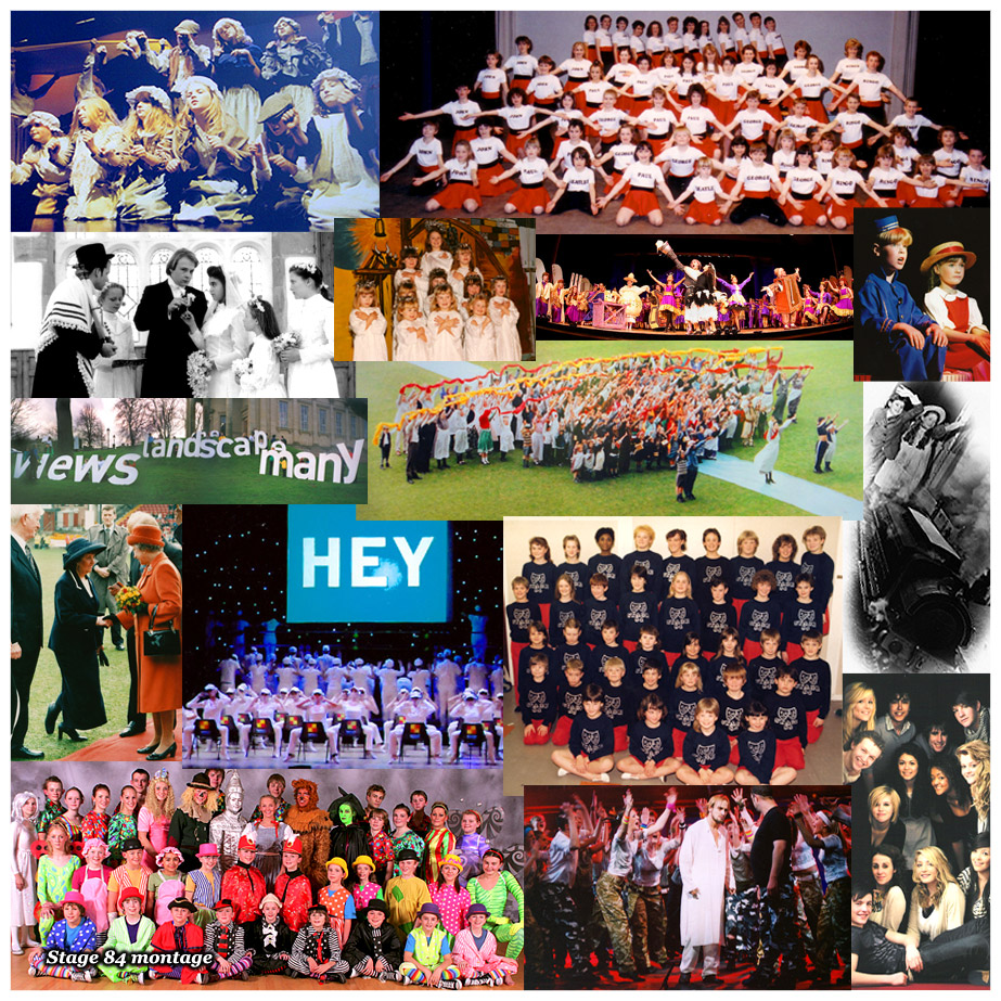 Montage of Stage 84 images through the years