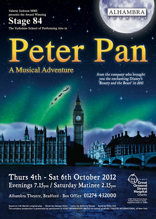 Stage 84 presents Peter Pan - A Musical Adventure, 2012
