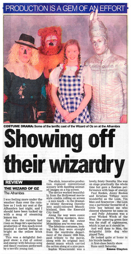 Stage 84 show off their wizardry