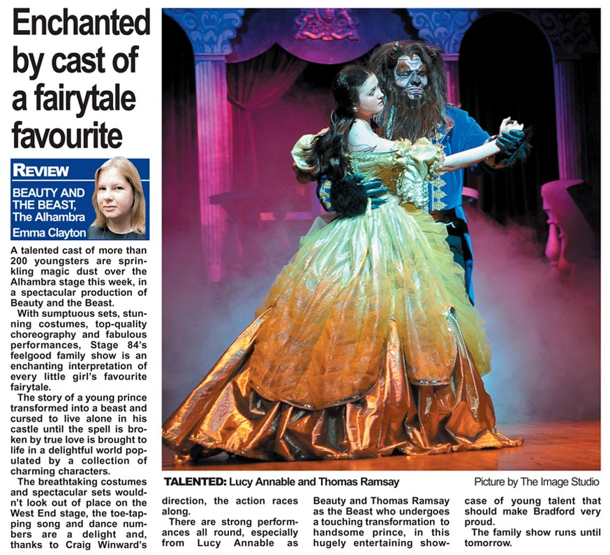 Enchanted by Stage 84 cast of a fairytale favourite