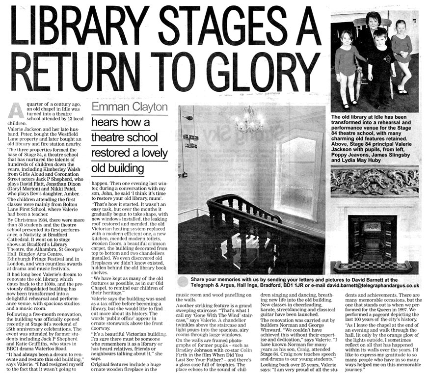 Stage 84's Library stages a return to glory