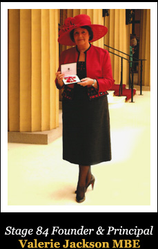 Stage 84 Founder & Principal Valerie Jackson MBE