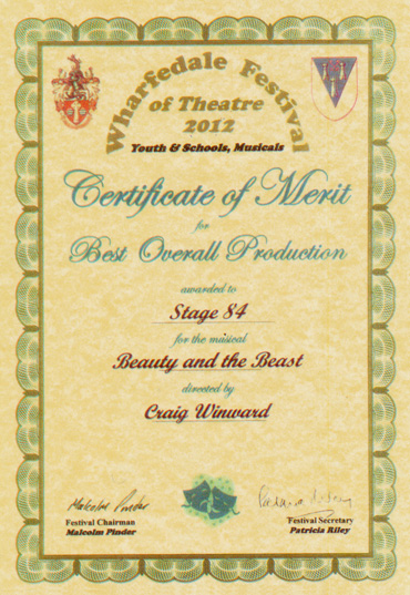 Beauty and the Beast 2011, - Best Overall Production